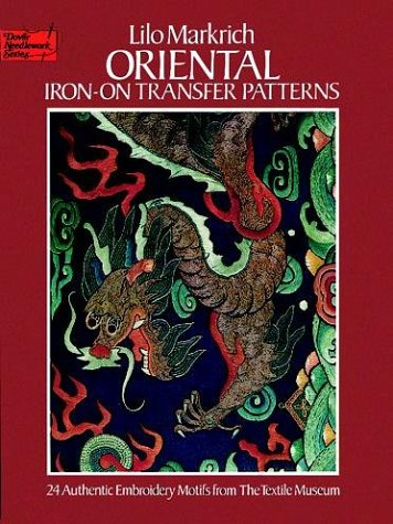 9780486238869: Oriental Iron-on Transfer Patterns (Dover Needlework)