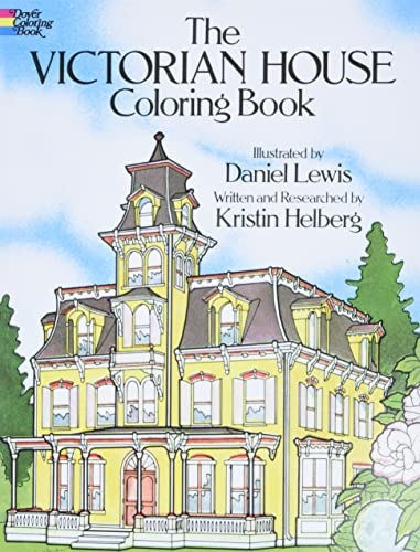 9780486239088: Victorian House Coloring Book