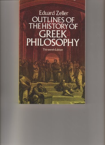 9780486239200: Outlines of the History of Greek Philosophy