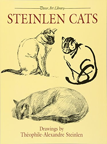 9780486239507: Steinlen Cats (Dover Fine Art, History of Art)
