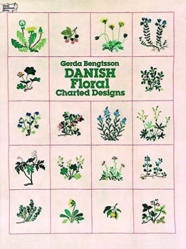 9780486239576: Danish Floral Charted Designs