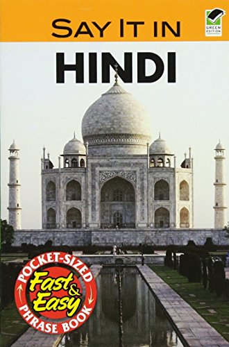 9780486239590: Say It in Hindi (Dover Language Guides Say It Series) (English and Hindi Edition)