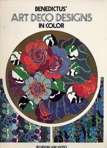 9780486239712: Benedictus' Art Deco Designs in Color