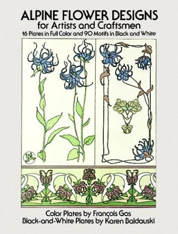 9780486239828: Alpine Flower Designs for Artists and Craftsmen (Dover Pictorial Archive Series)