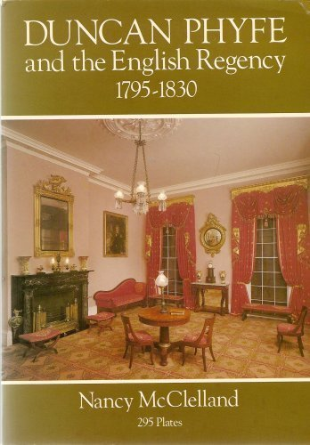 9780486239880: Duncan Phyfe and the English Regency, 1795-1830