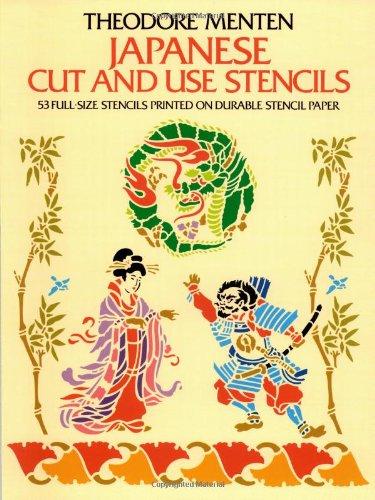 9780486239965: Japanese Cut & Use Stencils (Dover Stencils)
