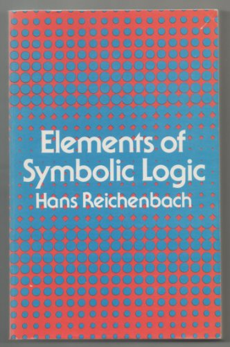 9780486240046: Elements of Symbolic Logic