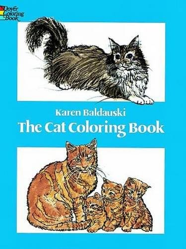 9780486240114: Cat Coloring Book