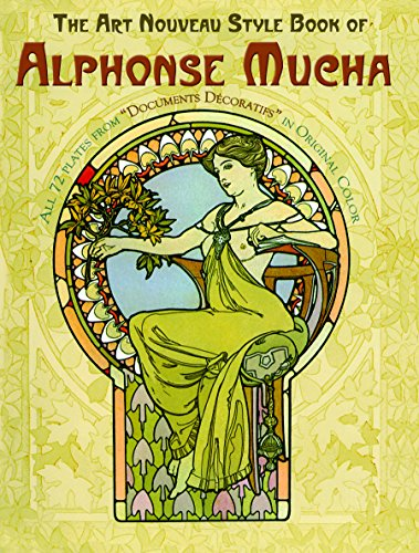 9780486240442: The Art Nouveau Style Book of Alphonse Mucha (Dover Fine Art, History of Art)