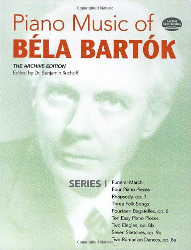 9780486241081: Piano Music of Bela Bartok, Series I: The Archive Edition: Series 1