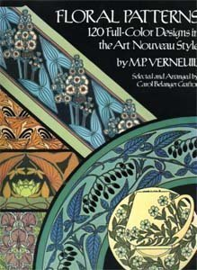 Floral Patterns: 120 Full Color Designs in: Verneuil, M. P.