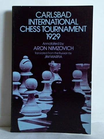 9780486241159: Carlsbad International Chess Tournament 1929