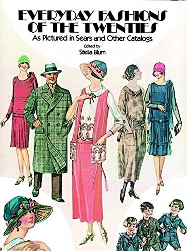 9780486241340: Everyday Fashions of the Twenties As Pictured in Sears and Other Catalogs