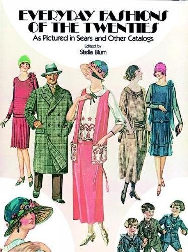 9780486241340: Everyday Fashions of the Twenties: As Pictured in Sears and Other Catalogs (Dover Fashion and Costumes)