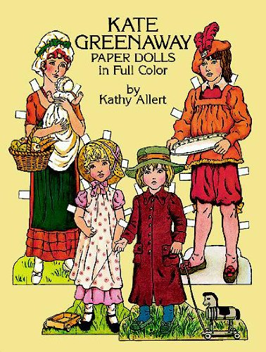 Kate Greenaway Paper Dolls (Dover Victorian Paper Dolls)