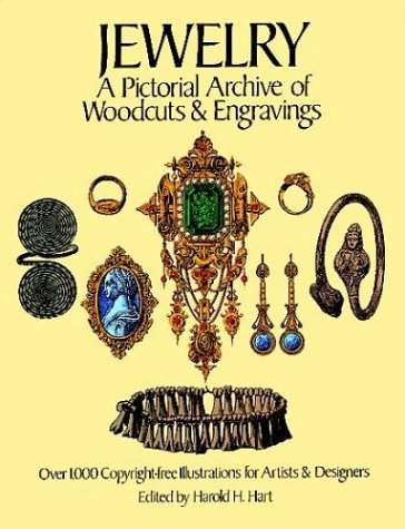 9780486241616: Jewelry: A Pictorial Archive of Woodcuts and Engravings