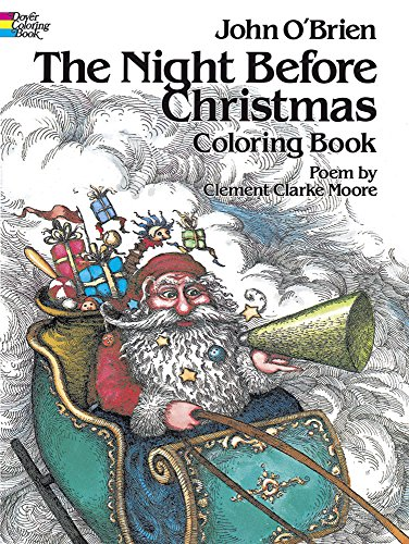 9780486241692: The Night Before Christmas Coloring Book