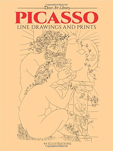 9780486241968: Picasso Line Drawings and Prints (Dover Fine Art, History of Art)