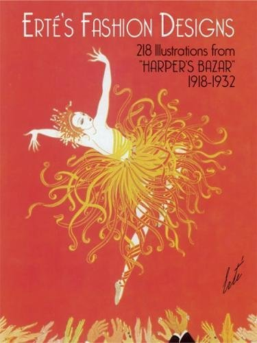 9780486242033: Erté's Fashion Designs: 218 Illustrations from
