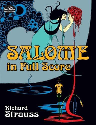 9780486242088: Salome in Full Score