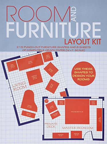 9780486242132: Room and Furniture Layout Kit