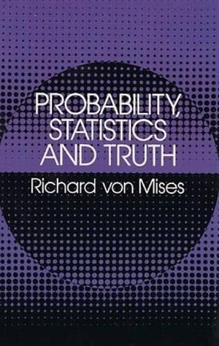9780486242149: Probability, Statistics and Truth (Dover Books on Mathematics)