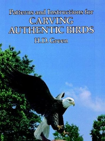 9780486242224: Patterns and Instructions for Carving Authentic Birds