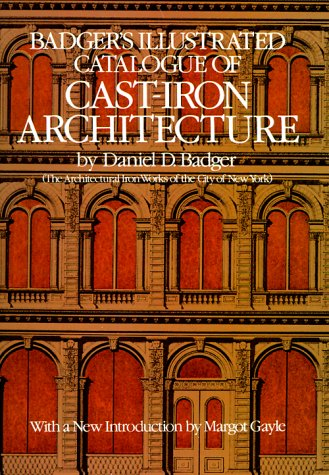 9780486242231: Badger's Illustrated Catalogue of Cast-Iron Architecture