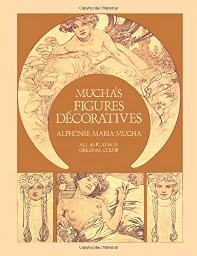 9780486242347: Mucha's Figures Decoratives: Forty Plates