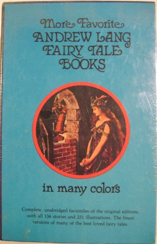 More Favourite Andrew Lang Fairy Tale Books: Lilac, Olive, Orange, Pink: Andrew Lang