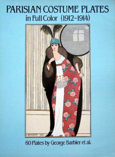 9780486242576: Parisian Costume Plates in Full Color 1912-1914