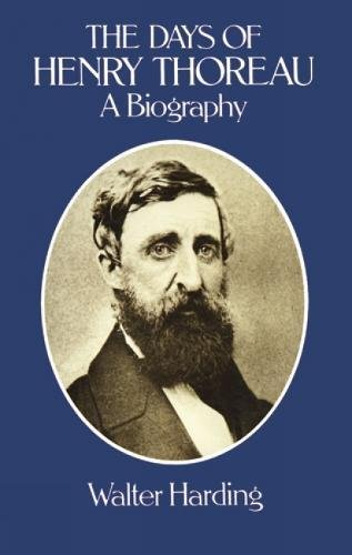 9780486242637: The Days of Henry Thoreau: A Biography