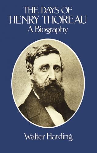 9780486242637: The Days of Henry Thoreau