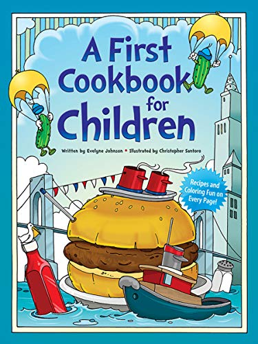 9780486242750: A First Cookbook for Children (Dover Children's Activity Books)