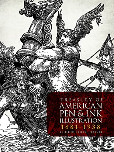 9780486242804: Treasury of American Pen & Ink Illustration 1881-1938 (Dover Fine Art, History of Art)