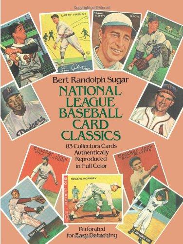 9780486243085: National League Baseball Card Classics