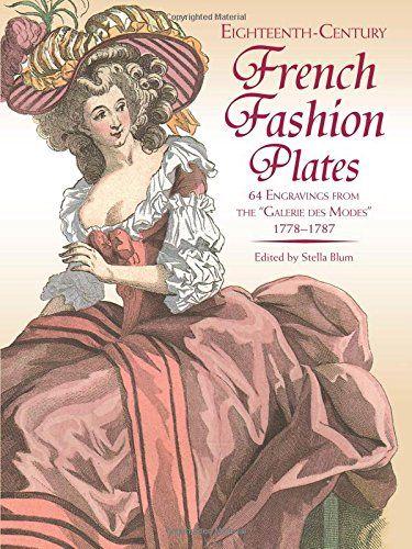 9780486243313: Eighteenth-Century French Fashion Plates in Full Color: 64 Engravings from the