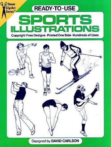 9780486243443: Ready-to-Use Sports Illustrations (Dover Clip Art)