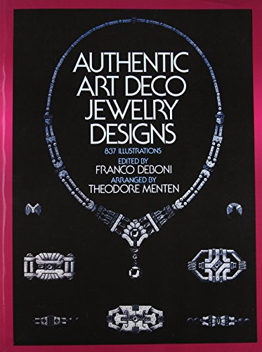 9780486243467: Authentic Art Deco Jewelry Designs: 837 Illustrations