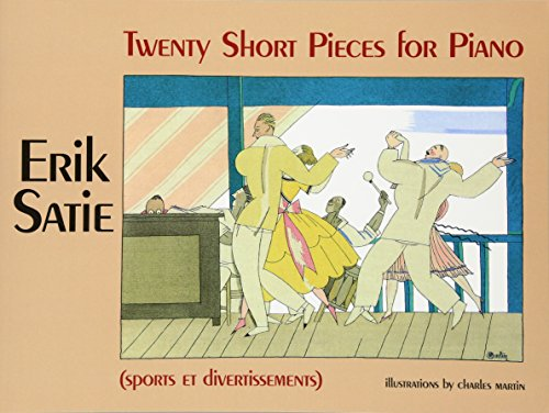 9780486243658: Twenty Short Pieces for Piano (Sports Et Divertissements) (Dover Music for Piano)