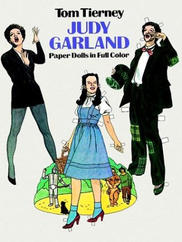 9780486244044: Judy Garland Paper Dolls in Full Color