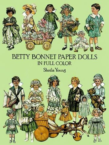 9780486244150: Betty Bonnet Paper Dolls in Full Color
