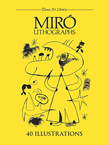 9780486244372: Miró Lithographs (Dover Fine Art, History of Art)
