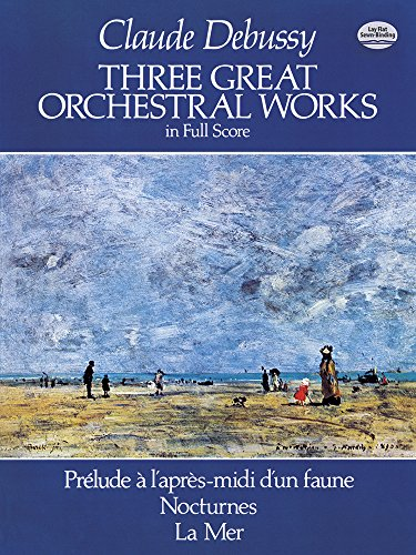 9780486244419: Three Great Orchestral Works in Full Score