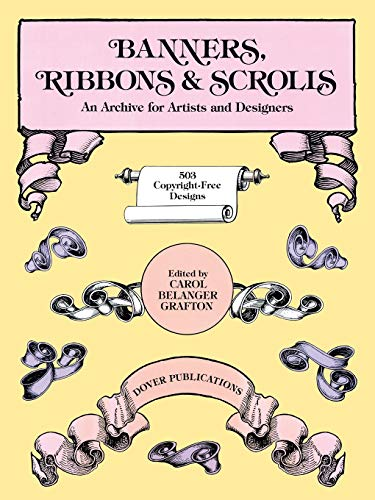 9780486244433: Banners, Ribbons and Scrolls (Dover Pictorial Archive)