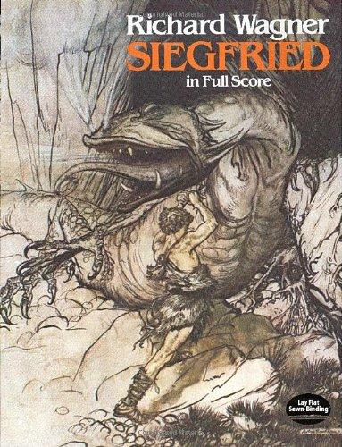 9780486244563: Siegfried in Full Score (Dover Music Scores)