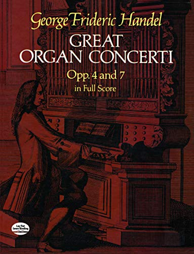 9780486244624: Great Organ Concerti: Opp. 4 and 7 in Full Score (Dover Music Scores)