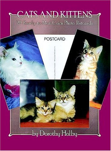 9780486244693: Cats and Kittens: 24 Ready-to-Mail Color Photo Postcards