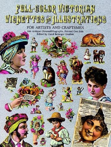 9780486244778: Full-Color Victorian Vignettes and Illustrations for Artists and Craftsmen (Dover Pictorial Archive Series)