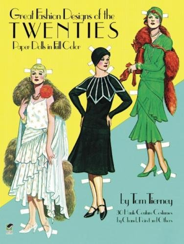 9780486244822: Great Fashion Designs of the Twenties: Paper Dolls in Full Color